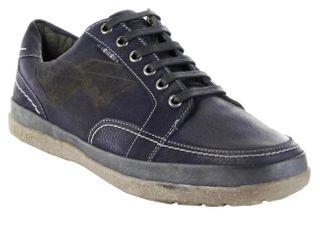 Marc Halbschuhe Sneaker blau Nubuk Lederdeck Herren Schuhe Callum 1-261-04-39 – Bild 1