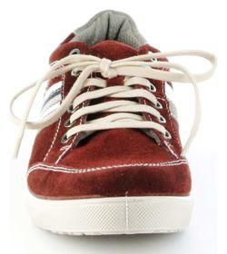 Jomos Halbschuhe Leder Sneaker Sohle herausnehmbar Herren 314304-889-5008 rot – Bild 9