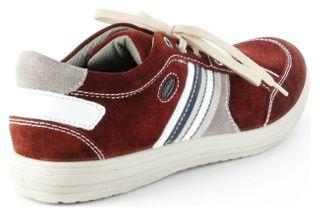 Jomos Halbschuhe Leder Sneaker Sohle herausnehmbar Herren 314304-889-5008 rot – Bild 3