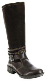 Josef Seibel Stiefel braun Warm gefüttert Leder Damen Schuhe Sandra 17 moro – Bild 1