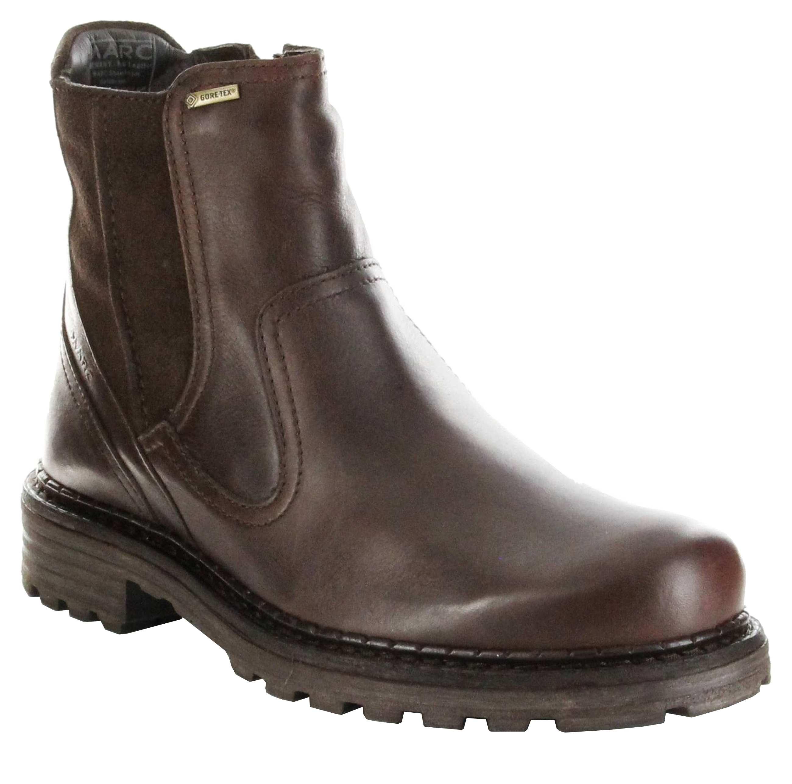 zuverlässige Leistung online zum Verkauf erstklassiges echtes Marc Stiefel Boots braun Leder Warm Herren Schuhe GORE Paul 1.237.04-57  t.d.moro