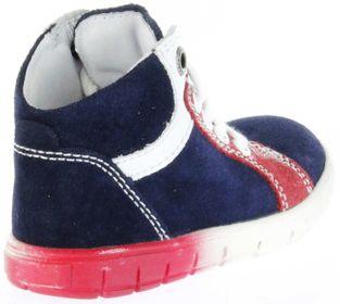 Richter Kinder Lauflerner Velourleder blau Jungen-Schuhe 1125-731-7201 atlantic Info S – Bild 3