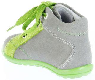 Richter Kinder Minis grau Velour Lederdeck Schnürer Jungen Schuhe 0026-732-6102 Mini – Bild 5