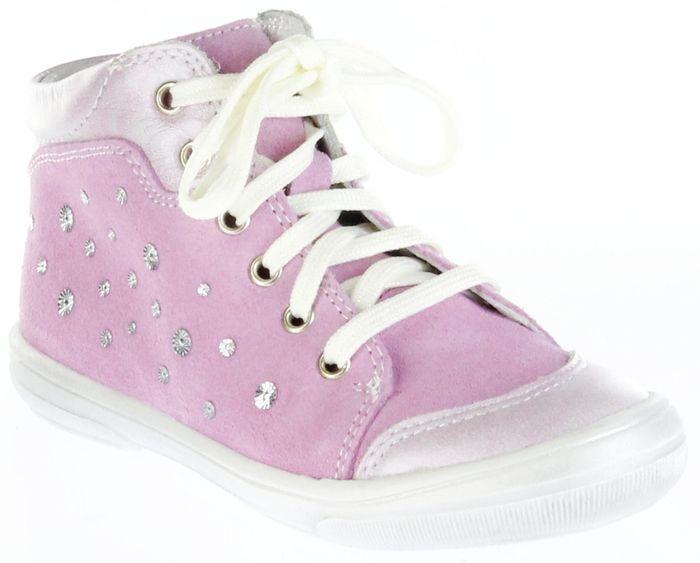 Richter Kinder Lauflerner Velourleder pink Mädchen Schuhe 0322-731-3501 fuchsia Dandi S