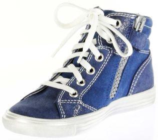 Richter Kinder Halbschuhe Sneaker blau Velourleder Mädchen-Schuhe 3146-732-6810 Fedora – Bild 8