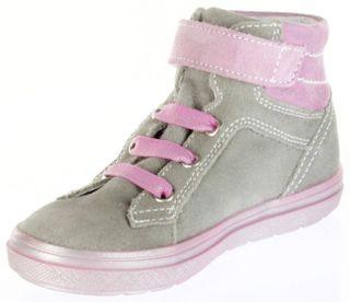 Richter Kinder Halbschuhe Sneaker grau Velourleder Mädchen Blinkie 4445-731-6101 Ilva – Bild 8