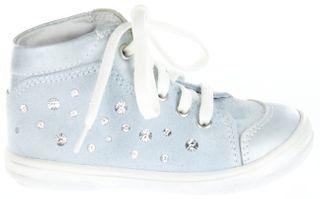 Richter Kinder Lauflerner Velourleder blau Mädchen Schuhe 0322-731-5611 jade Dandi S – Bild 2