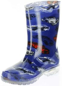 Conway Gummistiefel blau Regenstiefel Kinderschuhe Lichtfunktion Stiefel Schuhe Car – Bild 8