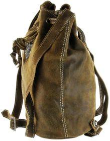 Bergheimer Trachten Tasche Damen Leder Trachtenrucksack braun LENA 1018 – Bild 3
