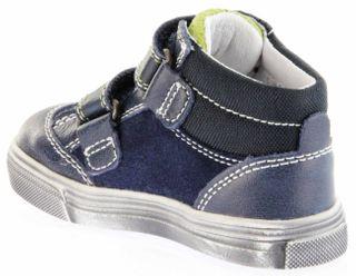 Richter Kinder Lauflerner-Halbschuhe blau Leder Jungen Schuhe 0831-831-7201 atlantic Oceano – Bild 5