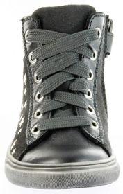 Richter Kinder Halbschuhe Sneaker grau Metallic Velourleder Mädchen-Schuhe WMS 3142-831-9600 altsilber Fedora – Bild 9