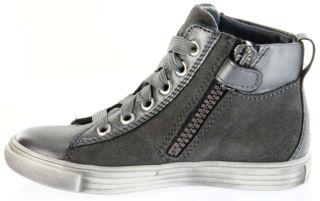 Richter Kinder Halbschuhe Sneaker grau Metallic Velourleder Mädchen-Schuhe WMS 3142-831-9600 altsilber Fedora – Bild 7