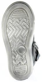 Richter Kinder Halbschuhe Sneaker grau Metallic Velourleder Mädchen-Schuhe WMS 3142-831-9600 altsilber Fedora – Bild 6