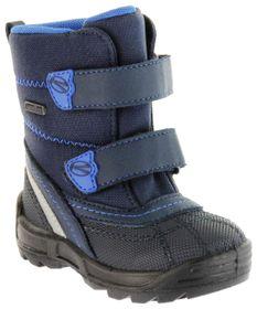 Richter Kinder Lauflerner-Stiefel Warmfutter blau SympaTex Jungen Schuhe WMS 2053-831-7203 atlantic Freestyle – Bild 1