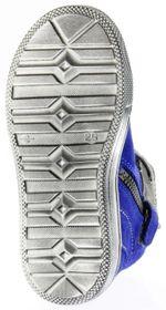 Richter Kinder Halbschuhe Sneaker blau Blinkies Velourleder Jungen-Schuhe 6543-832-6901 FitMI cobalt Ola – Bild 6