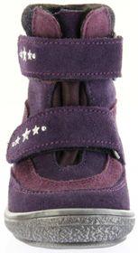 Richter Kinder Lauflerner-Stiefel SympaTex Warm Velourleder violett Mädchen-Schuhe 1537-833-7503 blackberry Star – Bild 9