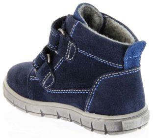 Richter Kinder Lauflerner blau Velourleder SympaTex Jungen Schuhe Warm 1133-831-7201 atlantic Info S – Bild 5