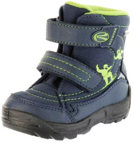 Richter Kinder Lauflerner-Stiefel SympaTex blau Warm Jungen WMS 2032-831-7201 atlantic Freestyle