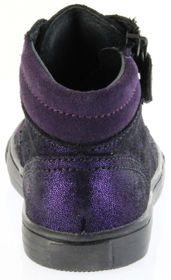 Richter Kinder Halbschuhe Sneaker violett Velourleder Mädchen-Schuhe 3148-832-7300 WMS plum Fedora – Bild 4