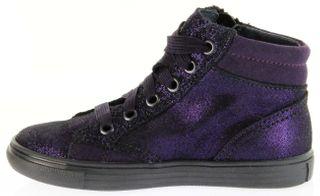 Richter Kinder Halbschuhe Sneaker violett Velourleder Mädchen-Schuhe 3148-832-7300 WMS plum Fedora – Bild 7