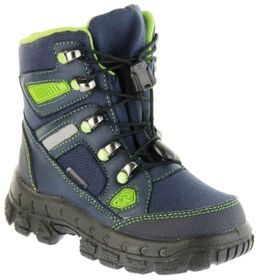 Richter Kinder Winter Stiefel Boots blau SympaTex Warm Jungen 7921-831-7201 atlantic apple Davos – Bild 1
