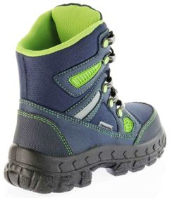Richter Kinder Winter Stiefel Boots blau SympaTex Warm Jungen 7921-831-7201 atlantic apple Davos – Bild 3
