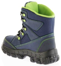 Richter Kinder Winter Stiefel Boots blau SympaTex Warm Jungen 7921-831-7201 atlantic apple Davos – Bild 5