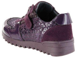 Richter Kinder Halbschuhe Sneaker lila Leder Mädchen Schuhe 3729-833-7500 blackberry Tosca – Bild 3