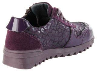 Richter Kinder Halbschuhe Sneaker lila Leder Mädchen Schuhe 3729-833-7500 blackberry Tosca – Bild 5