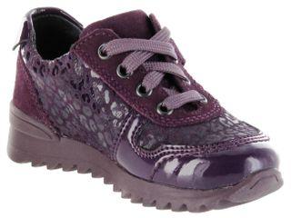 Richter Kinder Halbschuhe Sneaker lila Leder Mädchen Schuhe 3729-833-7500 blackberry Tosca – Bild 8