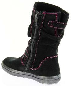 Richter Kinder Winter Boots Stiefel grau Warmfutter SympaTex Mädchen Blinkie 5131 831 6502 steel WMS Husky