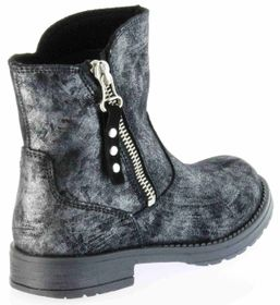 Richter Kinder Winter Boots Stiefel altsilber schwarz Warmfutter Metallic Mädchen 3856-832-9600 altsilber Jeky – Bild 3