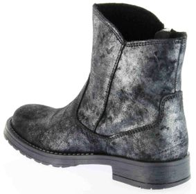 Richter Kinder Winter Boots Stiefel altsilber schwarz Warmfutter Metallic Mädchen 3856-832-9600 altsilber Jeky – Bild 5