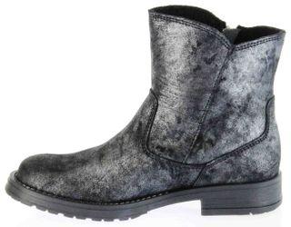 Richter Kinder Winter Boots Stiefel altsilber schwarz Warmfutter Metallic Mädchen 3856-832-9600 altsilber Jeky – Bild 7