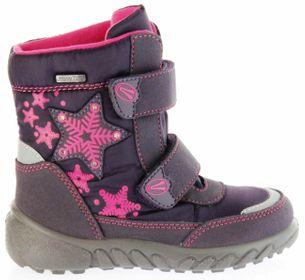 Richter Kinder Winter Boots Stiefel lila Warmfutter SympaTex Mädchen Blinkie 5131-831-7701 aubergine WMS Husky – Bild 2