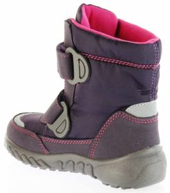 Richter Kinder Winter Boots Stiefel lila Warmfutter SympaTex Mädchen Blinkie 5131-831-7701 aubergine WMS Husky – Bild 5