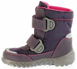 Richter Kinder Winter Boots Stiefel lila Warmfutter SympaTex Mädchen Blinkie 5131-831-7701 aubergine WMS Husky – Bild 7