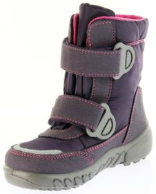 Richter Kinder Winter Boots Stiefel lila Warmfutter SympaTex Mädchen Blinkie 5131-831-7701 aubergine WMS Husky – Bild 8