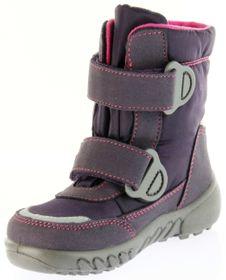 Richter Kinder Winter Boots Stiefel lila Warmfutter SympaTex Mädchen Blinkie 5131-831-7701 aubergine WMS Husky – Bild 8