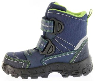 Richter Kinder Winter Stiefel Boots Blinkie Warm blau Tex Jungen 7932-831-7202 atlantic WMS Davos – Bild 7