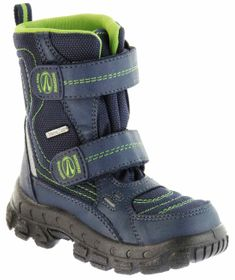 Richter Kinder Winter Stiefel Boots blau grün apple SympaTex Warm Jungen 7931-831-7204 atlantic WMS Davos