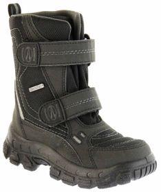 Richter Kinder Winter Stiefel Boots schwarz steel SympaTex Warm Jungen 7931-831-9901 black WMS Davos – Bild 1