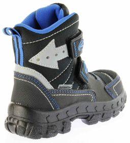 Richter Kinder Winter Stiefel Boots Blinkie Warm schwarz Tex Jungen 7932-831-9902 black lagoon Davos WMS – Bild 3
