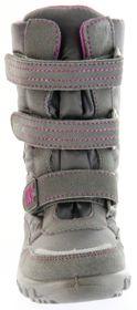 Richter Kinder Winter Boots Stiefel grau Warmfutter SympaTex Mädchen Blinkie 5151-831-6501 steel Husky WMS – Bild 9
