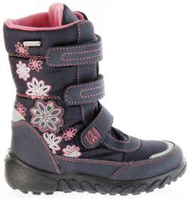 Richter Kinder Winter Boots Stiefel blau Warmfutter SympaTex Mädchen Blinkie 5151-831-7201 atlantic Husky WMS – Bild 2