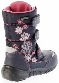 Richter Kinder Winter Boots Stiefel blau Warmfutter SympaTex Mädchen Blinkie 5151-831-7201 atlantic Husky WMS – Bild 3