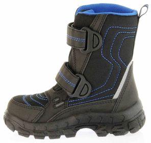 Richter Kinder Winter Stiefel Boots schwarz blau SympaTex Warm Jungen 7931-831-9903 black lagoon Davos – Bild 7