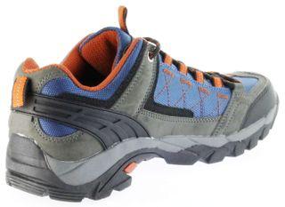 ConWay Sportschuhe blau Herren Damen Outdoor Trekking Schuhe Nauders blau orange – Bild 5