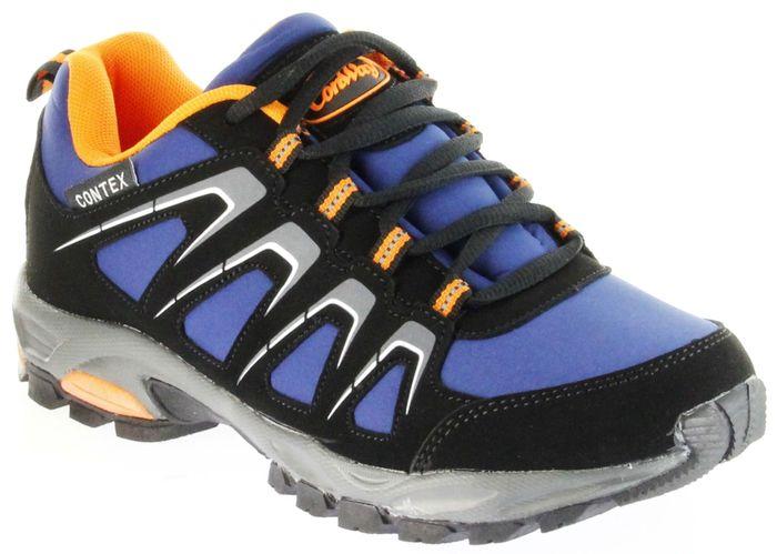 ConWay Sportschuhe schwarz blau orange Softshell CONTEX Herren Damen Outdoor Schuhe Dakar