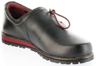 Bergheimer Trachtenschuhe Haferlschuhe schwarz rot Leder Herren Schuhe Fügen – Bild 8